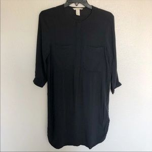 H&M Navy Blue Dress with pockets size 4 mini dress